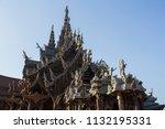pattaya chonburi province ... | Shutterstock . vector #1132195331