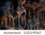 pattaya chonburi province ... | Shutterstock . vector #1132195367