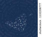 saint martin network ... | Shutterstock .eps vector #1132208777