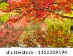 sakyo ku  kyoto shi late autumn ... | Shutterstock . vector #1132209194