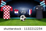 france vs croatia  final match... | Shutterstock .eps vector #1132212254