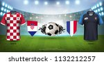 football cup 2018 world... | Shutterstock .eps vector #1132212257