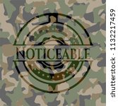 noticeable camouflaged emblem | Shutterstock .eps vector #1132217459