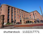 liverpool  uk   16 march  view... | Shutterstock . vector #1132217771