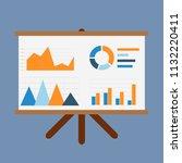 business statistics on the...   Shutterstock .eps vector #1132220411