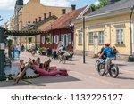 turku  finland   8 7 2018 ... | Shutterstock . vector #1132225127