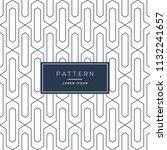 vector seamless pattern. modern ... | Shutterstock .eps vector #1132241657