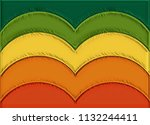 abstract color palette set...