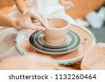 Women Working On The Potter's...