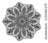 mandalas for coloring  book....   Shutterstock .eps vector #1132281179