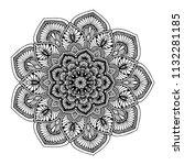 mandalas for coloring  book....   Shutterstock .eps vector #1132281185