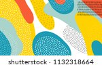 abstract art color vector... | Shutterstock .eps vector #1132318664