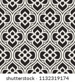 vintage floral seamless pattern.... | Shutterstock .eps vector #1132319174