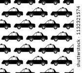 taxi icon seamless pattern... | Shutterstock .eps vector #1132321574
