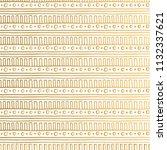 golden aztec background.... | Shutterstock .eps vector #1132337621