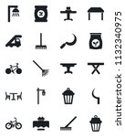 set of vector isolated black... | Shutterstock .eps vector #1132340975