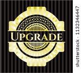 upgrade shiny badge   Shutterstock .eps vector #1132346447