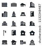set of vector isolated black... | Shutterstock .eps vector #1132348487