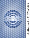 be the best version of you blue ... | Shutterstock .eps vector #1132363475