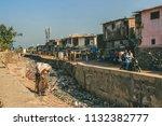 mumbai  india   april 18  2017  ... | Shutterstock . vector #1132382777