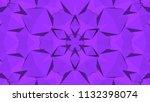 geometric design  mosaic of a... | Shutterstock .eps vector #1132398074