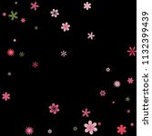 cute floral pattern with simple ...   Shutterstock .eps vector #1132399439