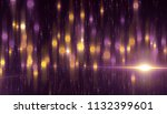 abstract pink bokeh circles on... | Shutterstock . vector #1132399601