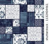 seamless elegant trendy... | Shutterstock . vector #1132404461