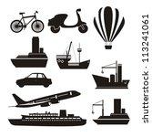 illustration of transportation...