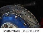 race car's disc brake   high... | Shutterstock . vector #1132413545