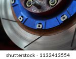 race car's disc brake   high... | Shutterstock . vector #1132413554