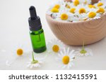 aromatherapy essential oil with ... | Shutterstock . vector #1132415591