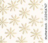 golden vector pattern with...   Shutterstock .eps vector #1132416767