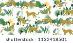 vector seamless pattern of... | Shutterstock .eps vector #1132418501