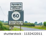editorial use only  a signpost... | Shutterstock . vector #1132422011