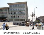 a view from ulus suquare ... | Shutterstock . vector #1132428317