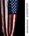 handing us flag | Shutterstock . vector #1132437197