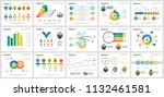 colorful diagrams set for... | Shutterstock .eps vector #1132461581
