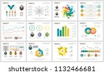 colorful analytics or planning... | Shutterstock .eps vector #1132466681