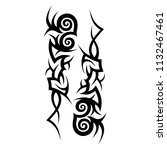 tattoos ideas designs   tribal... | Shutterstock .eps vector #1132467461