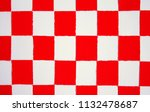paperwork  red and white ... | Shutterstock . vector #1132478687