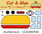 paper game for the development... | Shutterstock .eps vector #1132480934