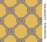 rope seamless pattern  trendy... | Shutterstock .eps vector #1132507331