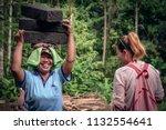 bali  indonesia   january 9 ... | Shutterstock . vector #1132554641