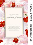 template for greeting cards ...   Shutterstock .eps vector #1132579259