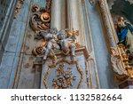 modica  sicily  italy  june 19  ... | Shutterstock . vector #1132582664
