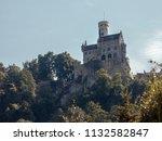 lichtenstein castle in germany | Shutterstock . vector #1132582847