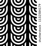 seamless pattern with circles... | Shutterstock .eps vector #1132584179