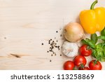 Culinary Food Background
