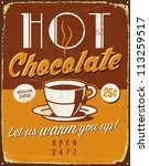 Vintage Metal Sign   Hot...